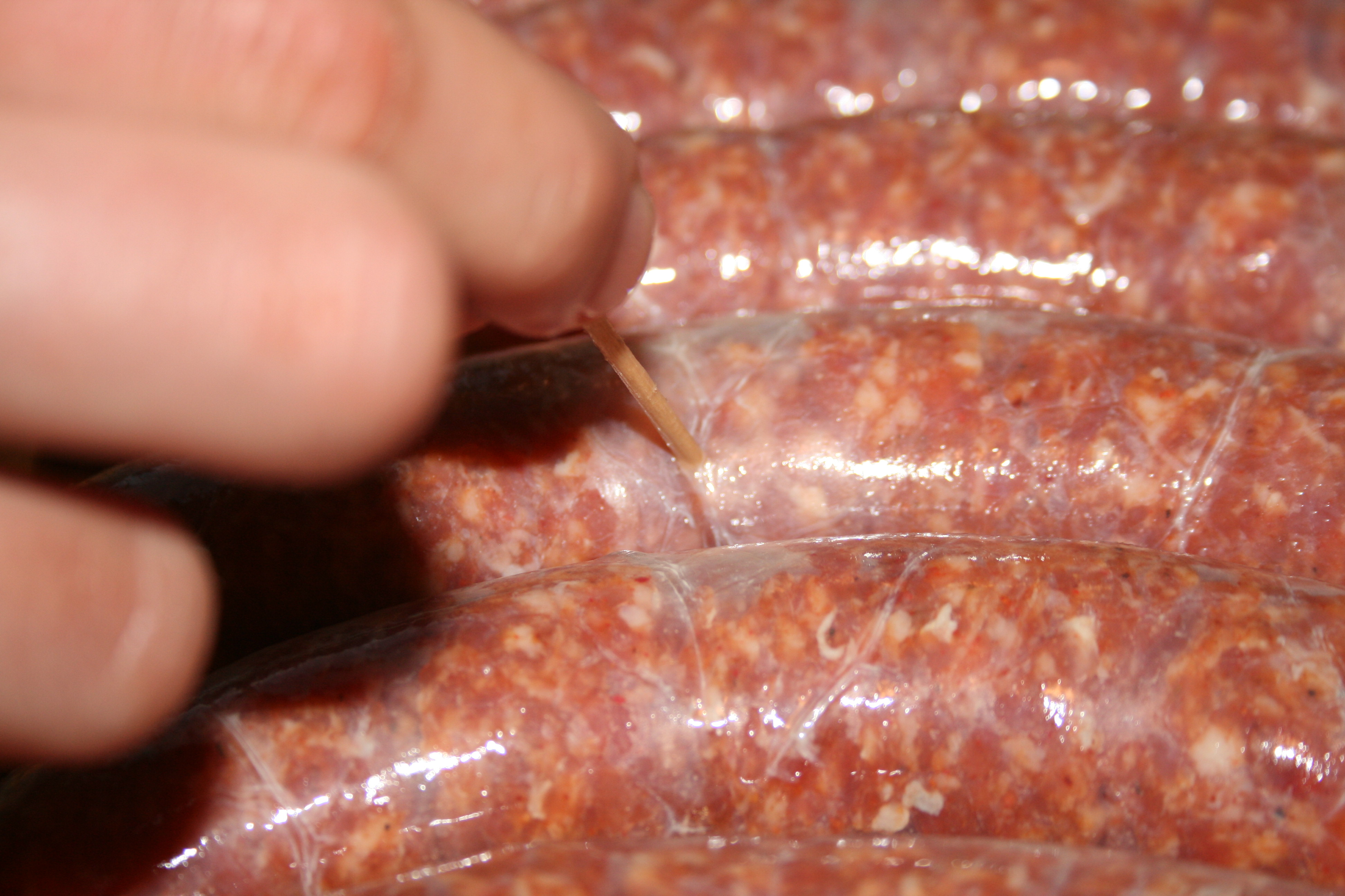 how to cook dry link sausage